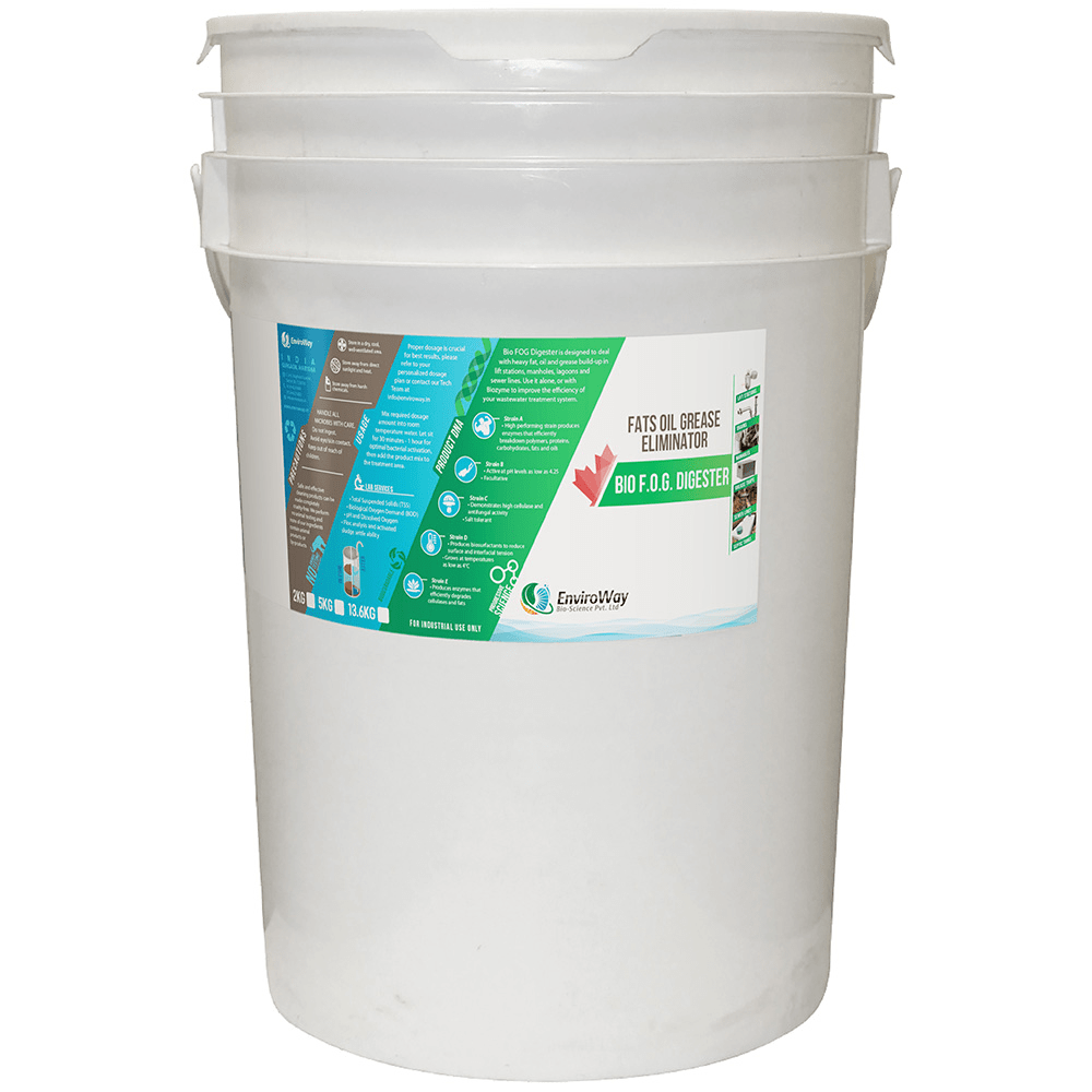 Bio FOG Digester - For Fate, Oil & Grease Removal